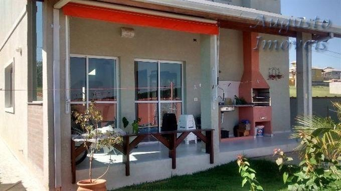linda casa em condomínio em atibaia, aproveite