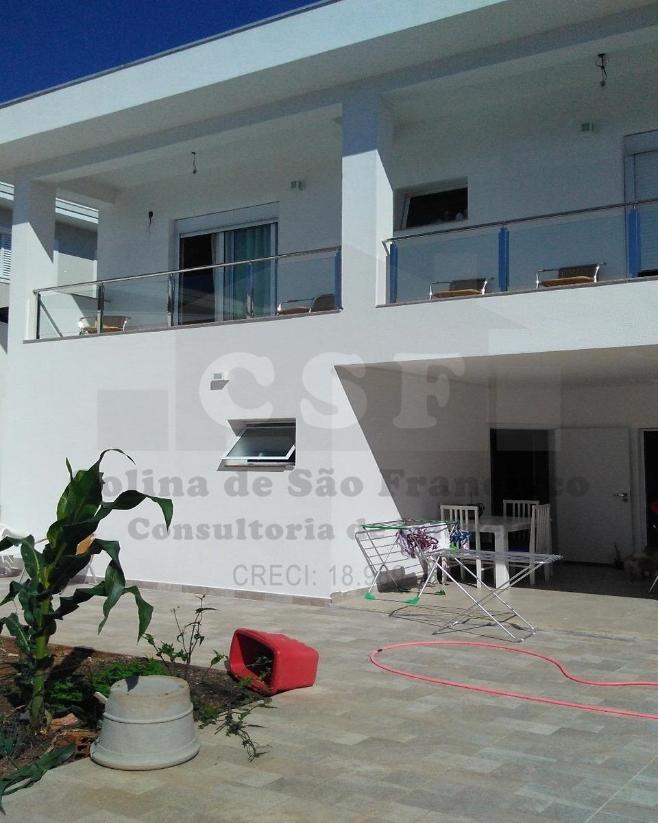 linda casa em condomínio fechado. 400m², 4 suítes, quintal, churrasqueira e vagas para 8 carros. você vai viver no primeiro intervillage do brasil. - ca03607 - 4526237