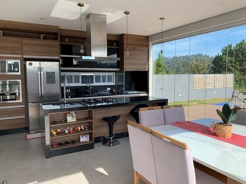 linda casa em condomínio fechado com 03 suítes e vaga para 04 carros - 11286