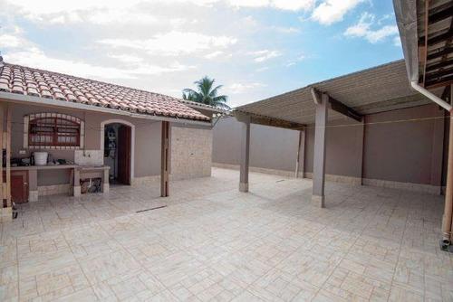 linda casa em itanhaém, 2 dorm. e escritura - ref 2894-p