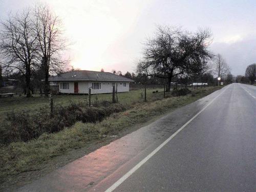 linda casa en parcela sector runca