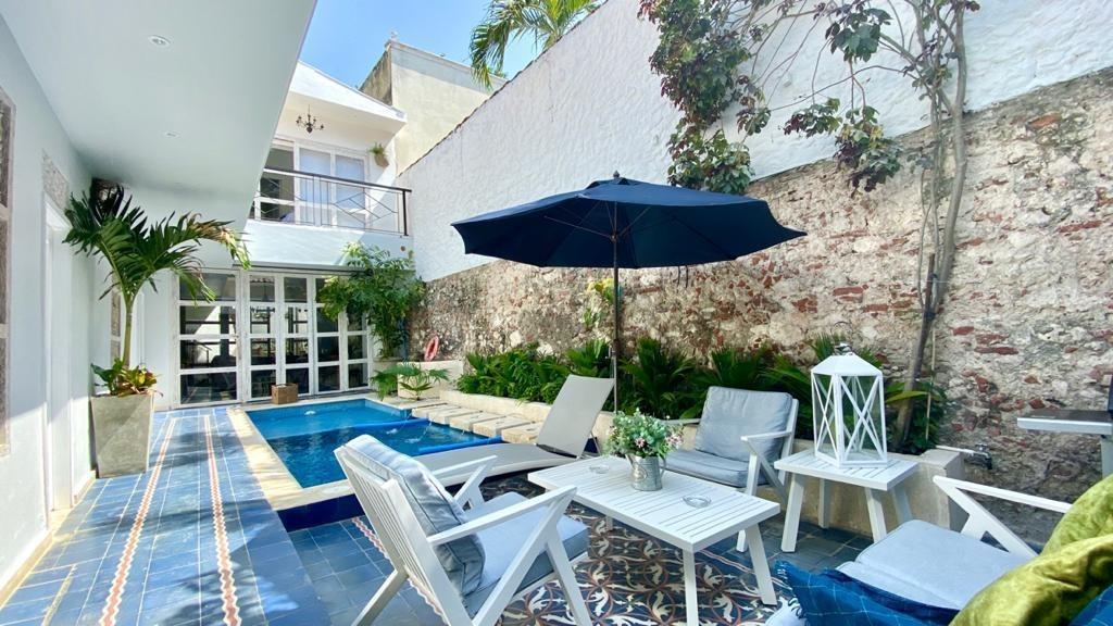 linda casa en renta por día y eventos en cartagena