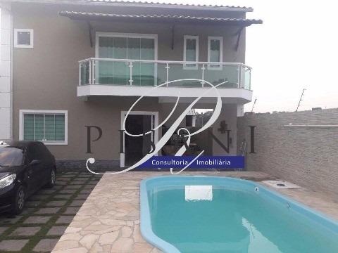 linda casa, fino acabamento próximo a prefeitura de itaguaí. - ca00240