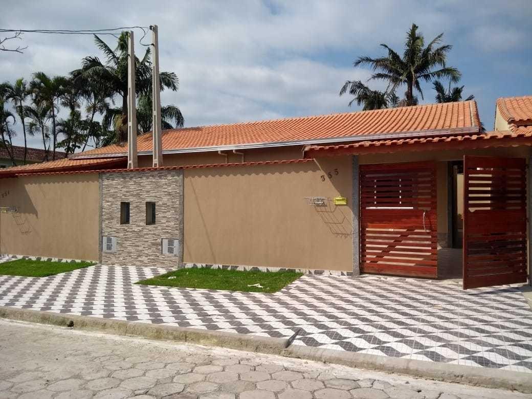 linda casa lado praia com 2 dorms - suíte - 200m  praia 1436