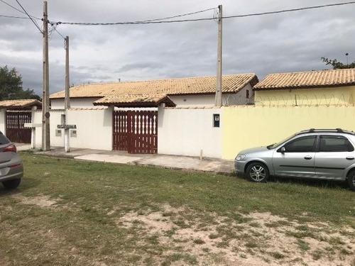 linda casa, lado praia, terreno medindo 125m² - ref 3399