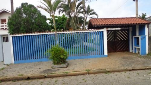 linda casa na praia, em itanhaém-sp! bairro cibratel 2