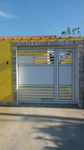 linda casa no balneário campos eliseos, em itanhaém, r 4534