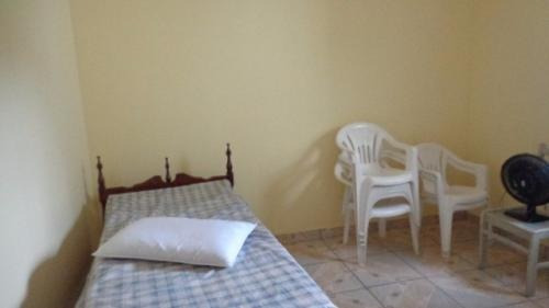linda casa no balneário gaivota, itanhaém-sp - 3 dormitórios