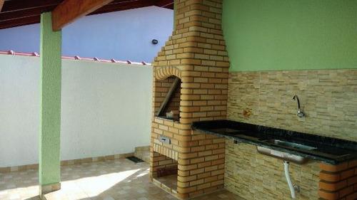 linda casa no balneário santa júlia em itanhaém - ref 3021