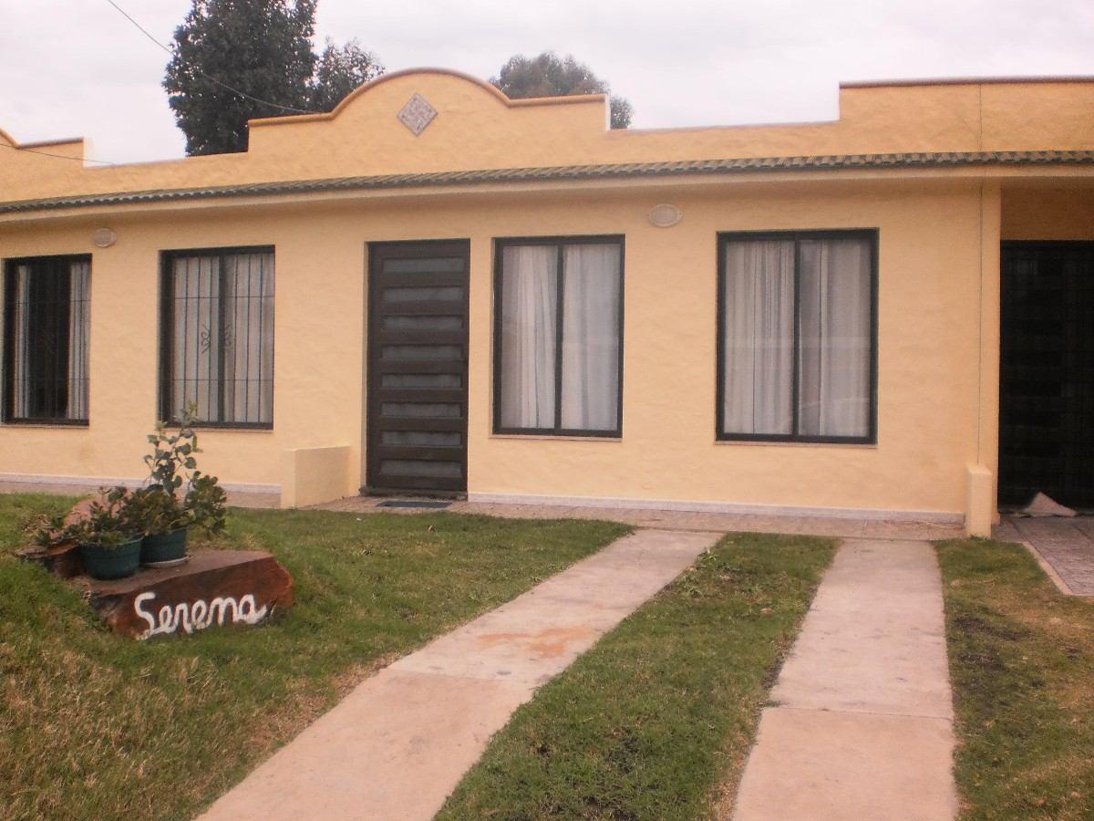linda casa para 4 o 5 pers muy bien equipada a/a parrillero