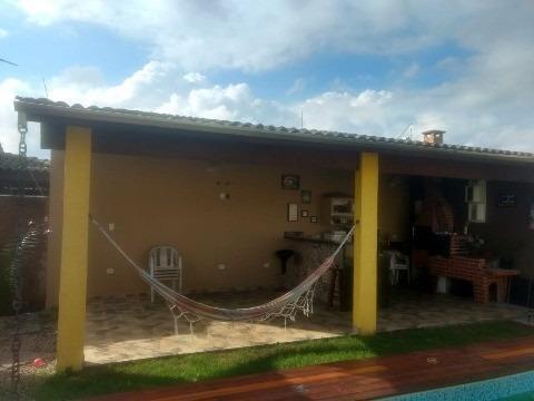 linda casa para venda no bairro recanto do sol - caraguatatuba/sp  semi nova, arquitetura diferenciada, lazer, próximo do novo colégio adventista e shopping serramar - ca00521 - 32748965