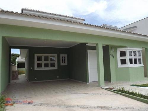 linda casa residencial em condomínio fechado de fácil acesso - ca0374