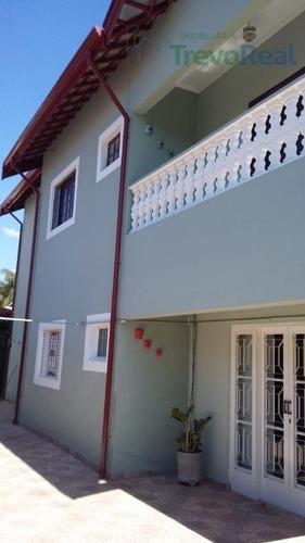 linda casa residencial à venda, jardim alvorada, valinhos. - ca1237