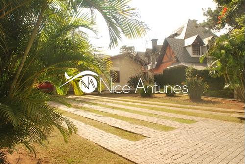 linda casa terrea na aldeia da serra - na11514