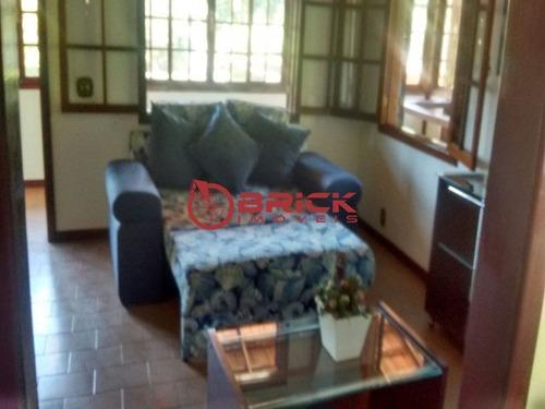 linda casa toda mobilhada no jardim salaco, teresópolis/rj - ca00762 - 33386308