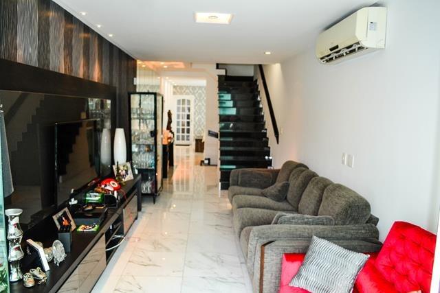 linda casa triplex 2 suites piscina churrasq. boqueirão v.r.