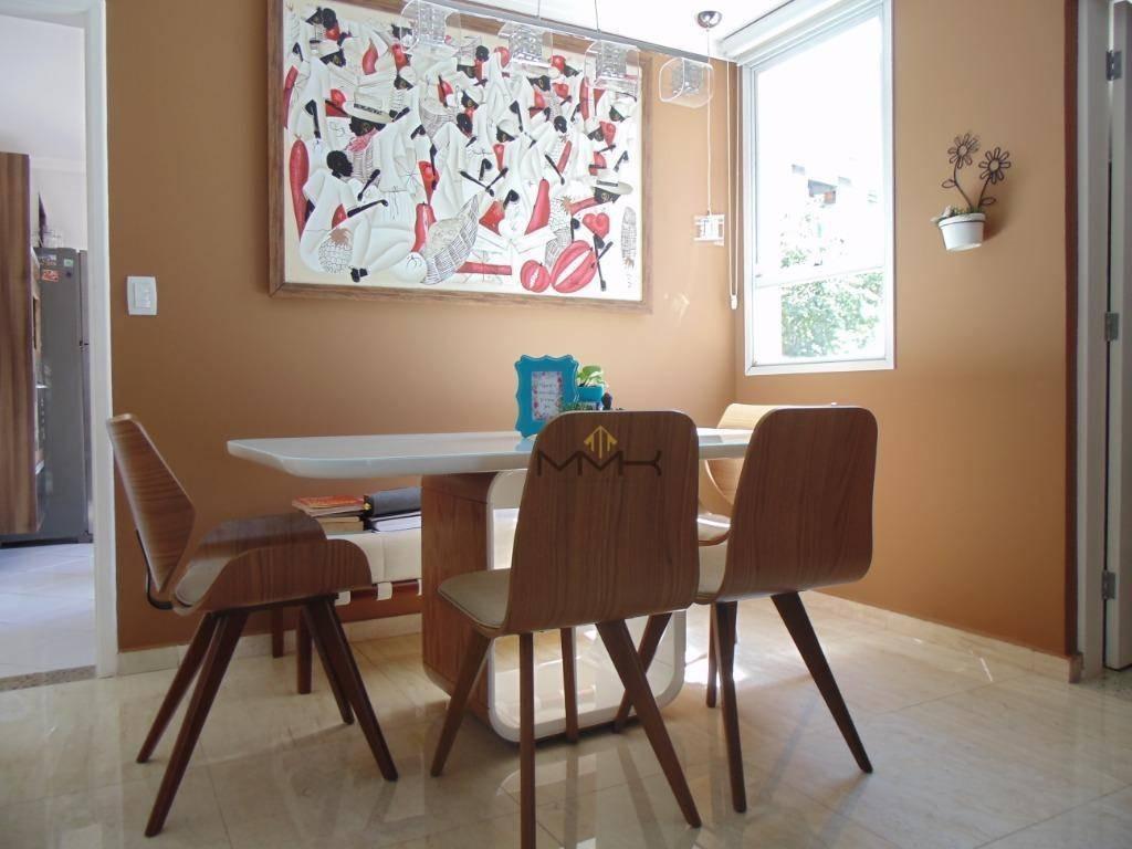 linda casa triplex - vila belmiro - santos/sp - 4 suítes - 2 vagas - churrasqueira com amplo espaço para festas e piscina - estuda permuta menor valor - ca0131