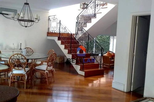 linda casa à venda, 352 m² - residencial quatro (alphaville) - ca0435