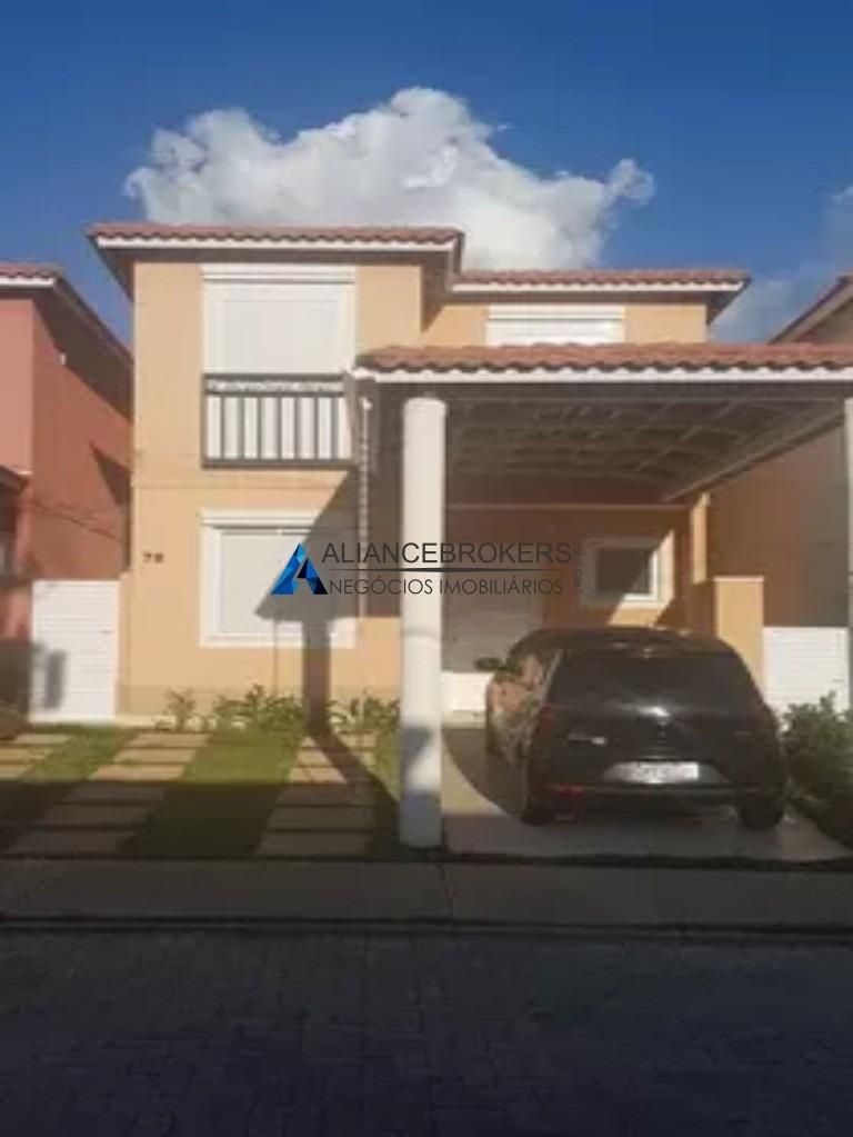 linda casa à venda no condomínio casas da toscana. imóvel pronto para morar, vai ficar todos os eletrodomésticos. - ca01304 - 33817395