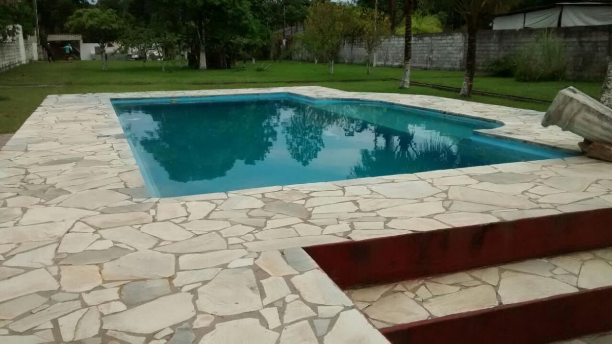 linda chácara, 6 suítes, piscina, murada, docs ok, praia!