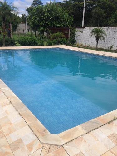 linda chácara c/ piscina e 4 dorm. em itanhaém! ref 2614-p