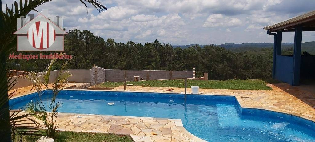 linda chácara, casa nova, 02 dormitórios, piscina, espaço gourmet e vista maravilhosa à venda, 970 m² por r$ 299.000 - zona rural - pinhalzinho/sp - ch0587