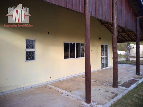 linda chácara com 02 dormitórios à venda, 4500 m² por r$ 260.000 - pedra bela - pedra bela/sp - ch0473
