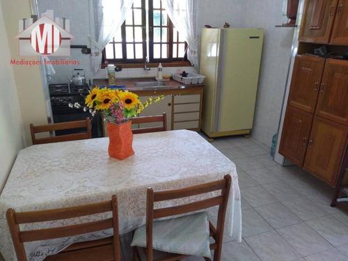 linda chácara com 03 dormitórios, ótima casa, varanda, pomar à venda, 1000 m² por r$ 260.000 - zona rural - pinhalzinho/sp - ch0539