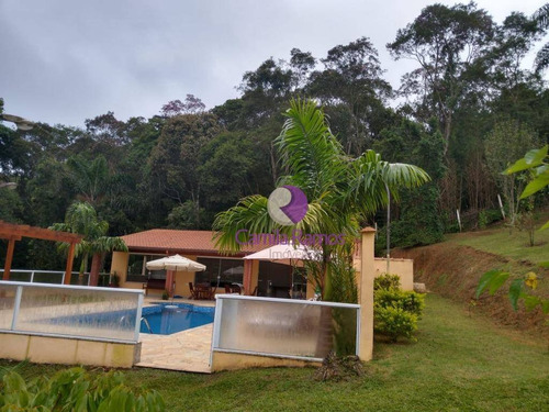 linda chácara com casa 4 dormitórios à venda - quinta divisão - suzano - ch0043