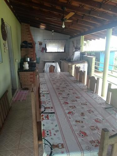 linda chácara com casa em condomínio - 848