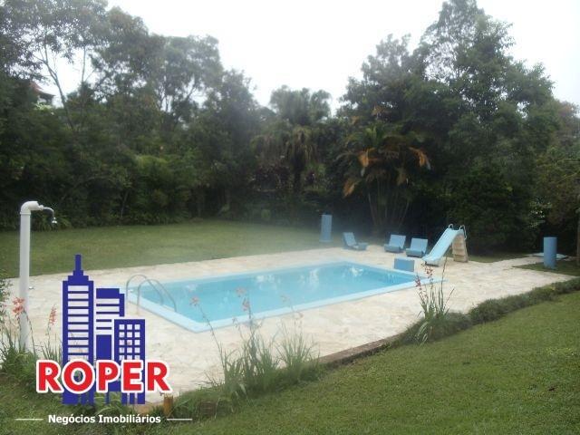 linda chácara com escritura de  2.900 metros com piscina à venda em embu guaçu, são paulo - ch00869 - 68131637