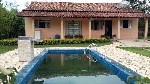 linda chácara com piscina e documento ok!!