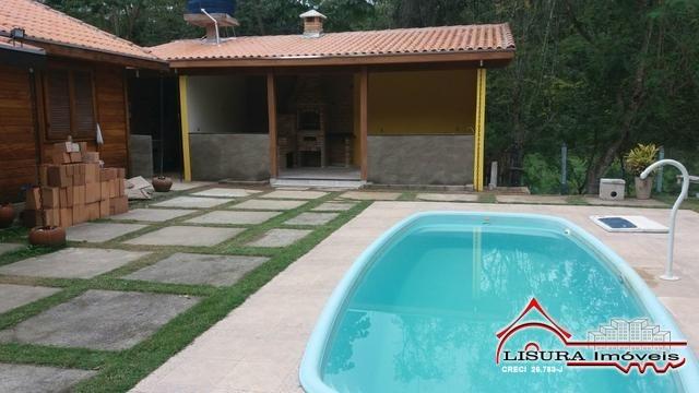 linda chacara com piscina em santa branca jacareí sp - 5803