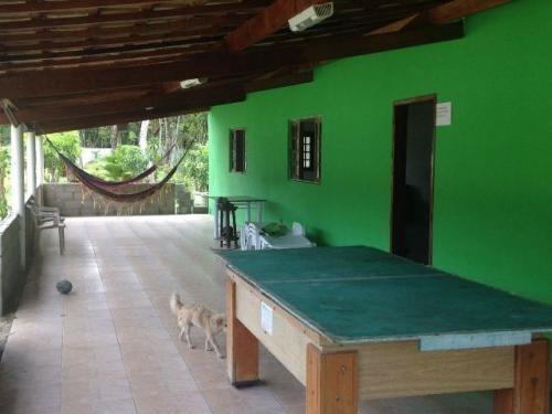 linda chácara com piscina na praia de itanhaém, c/ 4 quartos