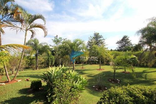 linda chácara em condomínio á venda em porto feliz-sp - ch0028