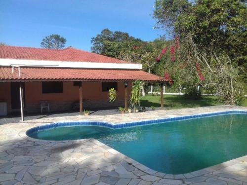 linda chácara em itanhaém, 3 quartos e piscina! - ref 0730-p