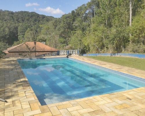 linda chácara em juquitiba com piscina