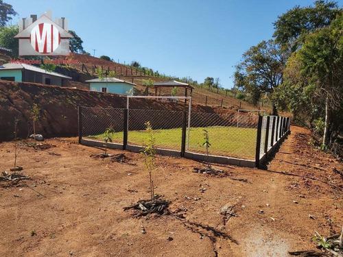 linda chácara, estilo rústico, piscina, pomar, arborizada com 02 dormitórios à venda, 1800 m² por r$ 330.000 - zona rural - pinhalzinho/sp - ch0508