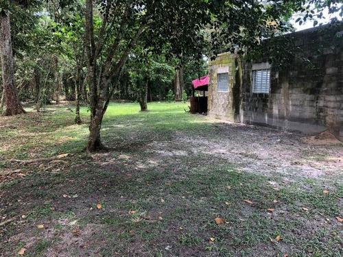 linda chácara no parque vergara, em itanhaém - ref 3915