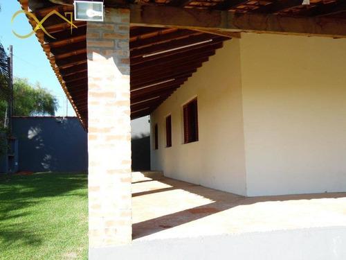 linda chácara para alugar, 1500 m² - joão aranha - paulínia/sp - ch0071