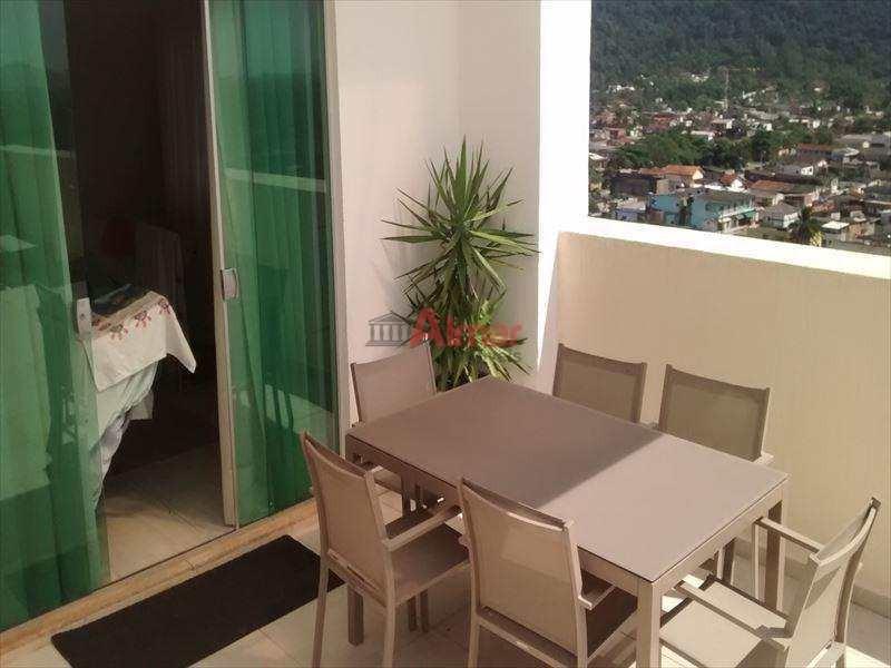 linda cobertura 3 dormitórios piscina no terraço no guarujá - v6331
