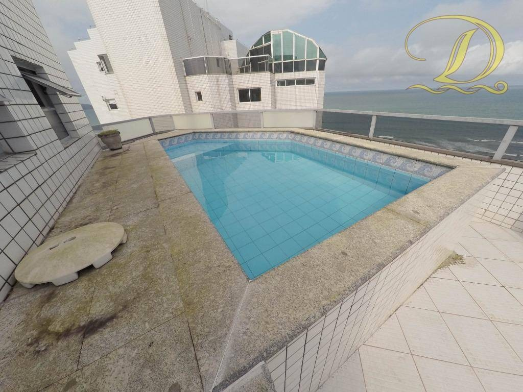 linda cobertura com piscina e churrasqueira, prédio frente para o mar - co0029