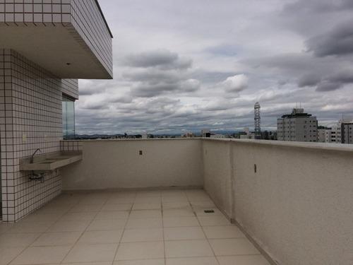 linda! cobertura de 2 quartos suite na melhor localização do castelo - 1120