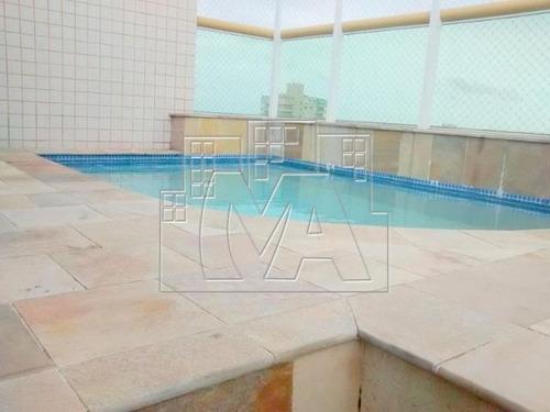 ¿linda cobertura duplex com piscina, churrasqueira, hidromassagem e ar condicionado.