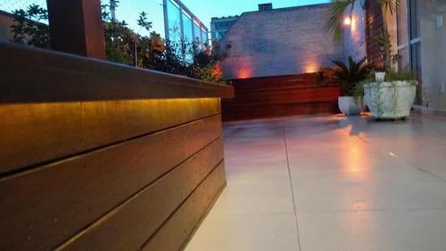 linda cobertura no cond. aquárius - 4q-2 vgs - rua araguaia