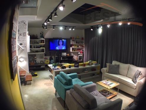 linda e nova cobertura duplex! - co0171