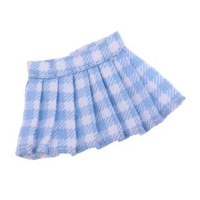 5fdcece58 Linda Falda Plisada Cuadrícula Para Ob11 Mini Doll Dress