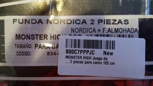 Funda Nordica Monster.Linda Funda Nordica Tamano Individual Monster High