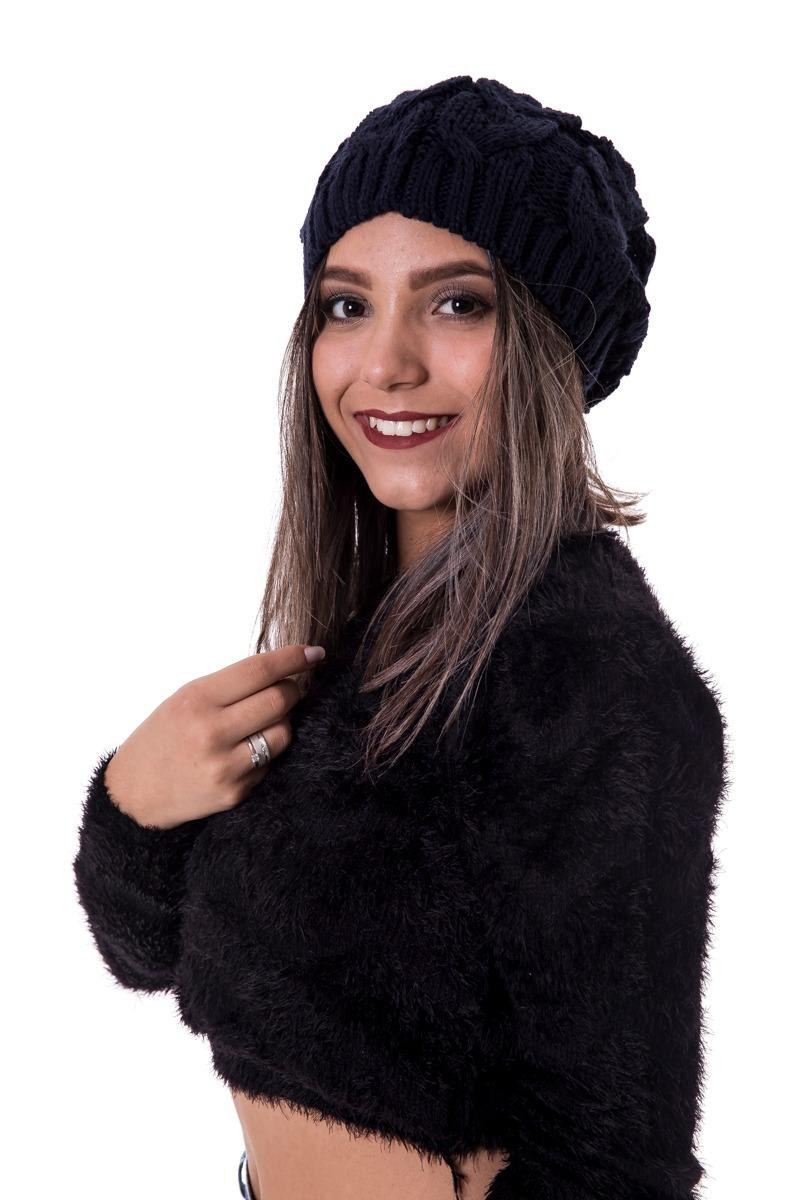 154cd36876ef2 linda gorro touca feminina frio grossa várias cores  070. Carregando zoom.