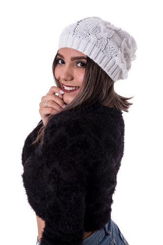 31a23c967367d Linda Gorro Touca Feminina Frio Grossa Várias Cores  070 - R  23